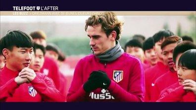 Téléfoot, l'After - Le Buzz : Griezmann avec de jeunes joueurs chinois