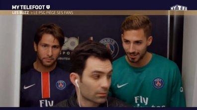 MyTELEFOOT - Le Buzz : Les joueurs du PSG surprennent des fans dans un photomaton