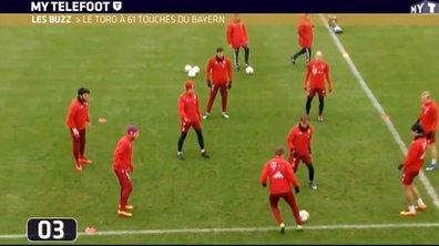 MyTELEFOOT - Le Buzz : L'incroyable toro du Bayern Munich