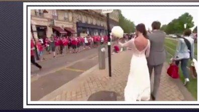 MyTELEFOOT L'After - Buzz : Mariage gallois dans les rues de Bordeaux