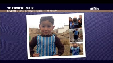 Téléfoot, l'After - Le Buzz : Messi retrouve son petit fan afghan