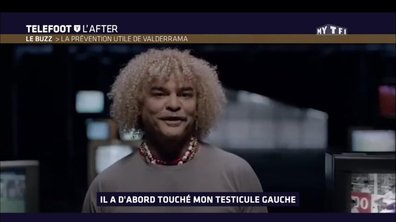 Téléfoot, l'After - Le Buzz : la prévention utile de Valderrama