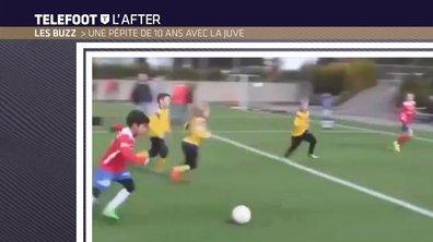 Téléfoot, l'After - Le Buzz : Les prouesses d'un enfant de dix ans recruté par la Juventus