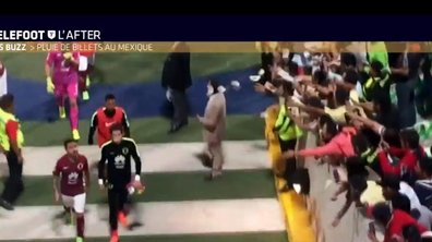 Téléfoot, l'After - Le Buzz : Un gardien mexicain chambré par ses supporters