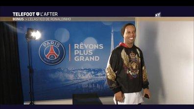 Téléfoot, l'After - Challenge : L'elastico de Ronaldinho