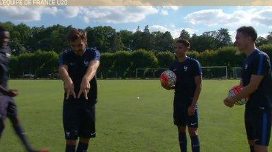Téléfoot, l'After - Le challenge avec l'Equipe de France U20