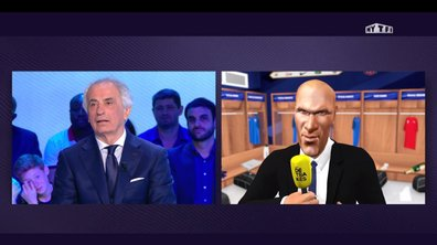 Téléfoot, l'After - Les détrakés : la question de Zizou à Halilhodzic