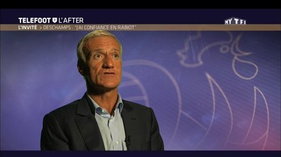 "Téléfoot, l'After - Didier Deschamps : ""J'ai confiance en Rabiot"""