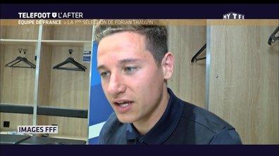 Téléfoot, l'After - Equipe de France, la 1ère sélection de Florian Thauvin