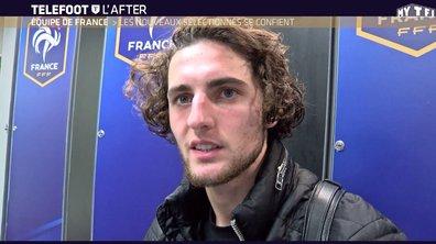 Téléfoot, l'After - Equipe de France : les nouveaux sélectionnés se confient