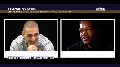 Le face à face de Mandanda et Benzema dans les Archives de Téléfoot