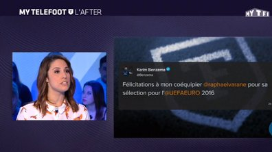 MyTELEFOOT L'After - Karim Benzema félicite Raphaël Varane