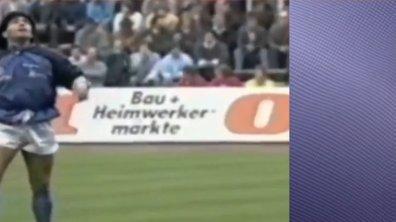 Téléfoot, l'After - Le kiff : Quand Diego Maradona jonglait au San Paolo