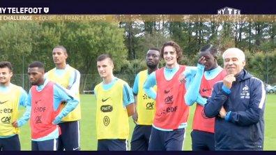 MyTELEFOOT - L'Equipe de France Espoirs et le challenge de la barre !