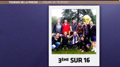 MyTELEFOOT L'After - L'équipe de Téléfoot au Tournoi de la Presse