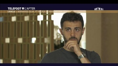 Téléfoot, l'After - L'exclu : Bernardo Silva, 1ère recrue de Manchester City