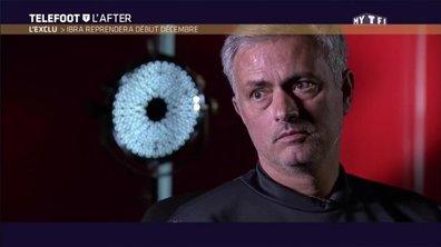 """Téléfoot, l'After - L'exclu, José Mourinho : """"Ibrahimovic reprendra début décembre"""""""