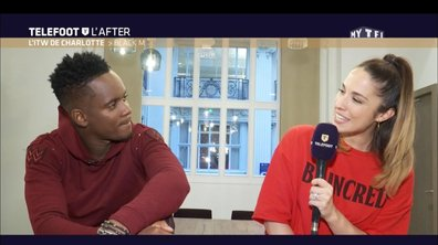 Téléfoot, l'After - L'ITW de Charlotte : Black M