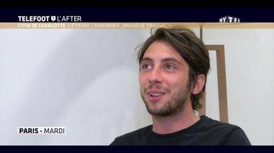 Téléfoot, l'After - L'ITW de Charlotte : Etienne Carbonnier, Dimanche transpi