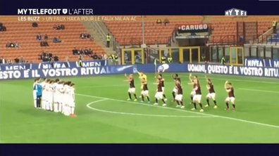 MyTELEFOOT L'After - Le Buzz : Le Haka ridicule de l'AC Milan