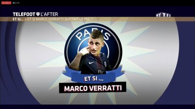Téléfoot, l'After : Et si… Marco Verratti quittait le PSG ?