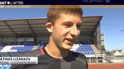 Téléfoot, l'After - Mathias Lizarazu, homonyme de Bixente
