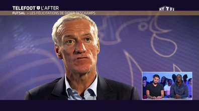 Téléfoot, l'After - Le message de Didier Deschamps à l'équipe de France de Futsal