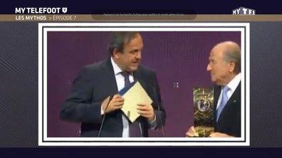 MyTELEFOOT - Les Mythos avec Platini, Blatter et Courbis