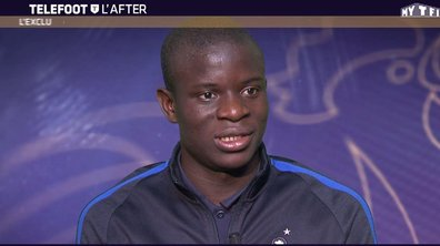 """Téléfoot, l'After – N'Golo Kanté : """"C'est dommage d'être sur le banc"""""""