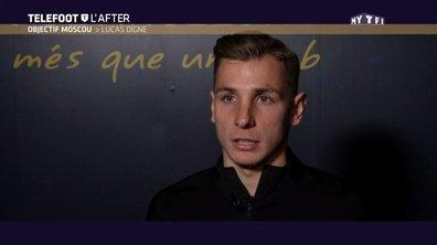 """Objectif Moscou - Lucas Digne : """"Je vis très bien la concurrence"""""""