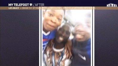MyTELEFOOT L'After - Le Buzz : Omar Sy s'amuse avec Paul Pogba