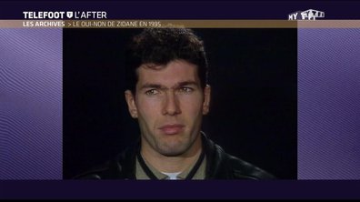 Téléfoot, l'After - Archives : Le Oui/Non de Zinédine Zidane (1995)