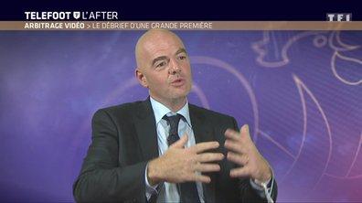 Téléfoot, l'After - Que pense le président de la FIFA de l'arbitrage vidéo ?