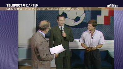Les archives : Philippe Tournon accueille Téléfoot à Clairefontaine en 1990