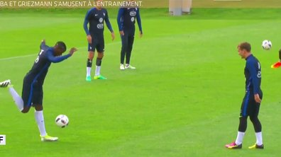 MyTELEFOOT L'After - Le Buzz : Pogba et Griezmann en session freestyle