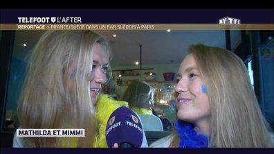 Téléfoot, l'After - Reportage - Suède-France dans un bar suédois à Paris