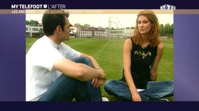 Les archives : Quand Sophie Thalmann interviewe Willy Sagnol