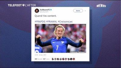 Téléfoot, l'After - Les Tweets de la semaine : 100% Bleu