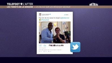 Téléfoot, l'After - Les tweets de la semaine : les Bleus sur les réseaux sociaux