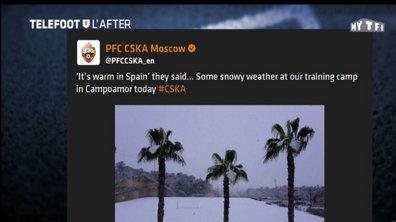 Téléfoot, l'After - Les tweets de la semaine : CSKA Moscou, Juve et Bottle Challenge