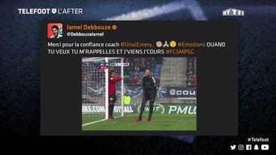 Téléfoot, l'After - Les tweets de la semaine : Jamel, Neymar et Cavani