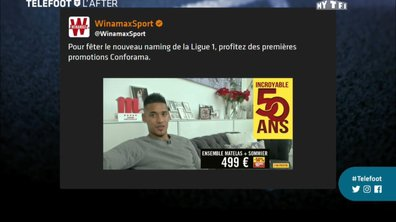 Téléfoot, l'After - Les tweets de la semaine : La ligue 1 Conforama