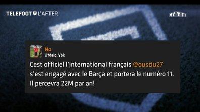 Téléfoot, l'After - Les tweets de la semaine : Ousmane Dembélé au Barça