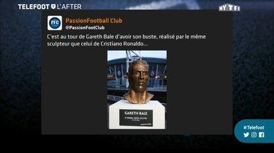 Téléfoot, l'After - Les tweets de la semaine  : La statue de Gareth bale