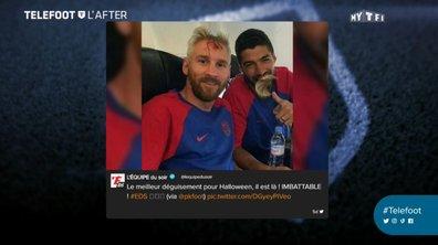 Téléfoot, l'After - Les tweets de la semaine avec Suarez et Messi