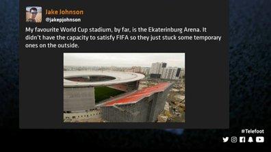 Téléfoot, l'After - Les tweets de la semaine : un drôle de stade en Russie