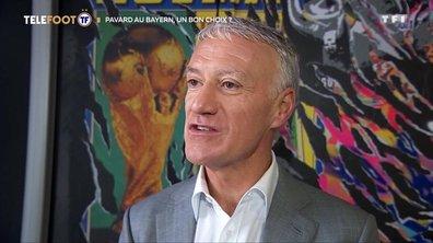 L'avis de Didier Deschamps et Olivier Giroud sur le transfert de Benjamin Pavard