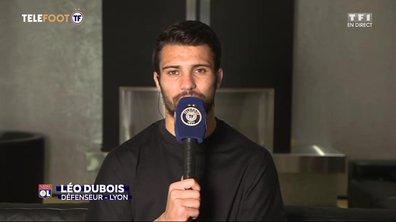 La saison, l'arrivée de Juninho/Sylvinho, Equipe de France : l'interview de Leo Dubois