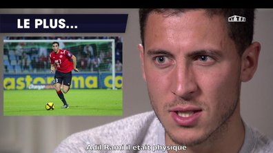"L'interview ""Qui est le plus"" d'Eden Hazard"