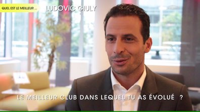 "L'interview ""The Best"" de Ludovic Giuly"